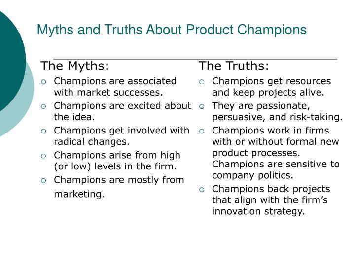 The Myths: