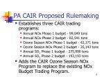 pa cair proposed rulemaking2