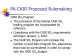 pa cair proposed rulemaking3