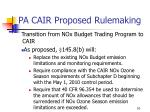 pa cair proposed rulemaking6
