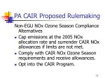 pa cair proposed rulemaking8