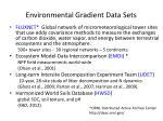 environmental gradient data sets