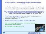 euratom treaty environmental radiological monitoring data available