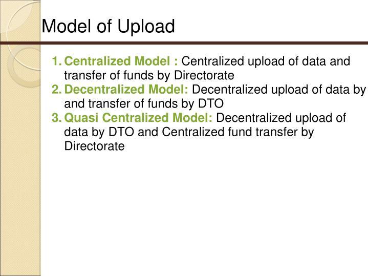 Model of Upload