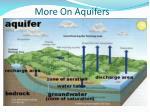 more on aquifers