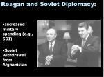 reagan and soviet diplomacy