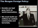 the reagan foreign policy