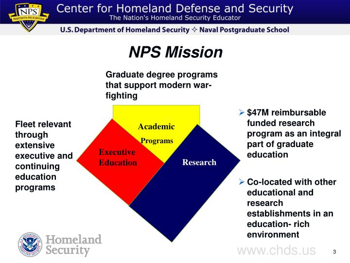 Nps mission
