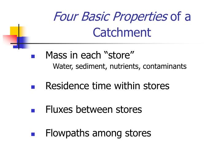 Four Basic Properties