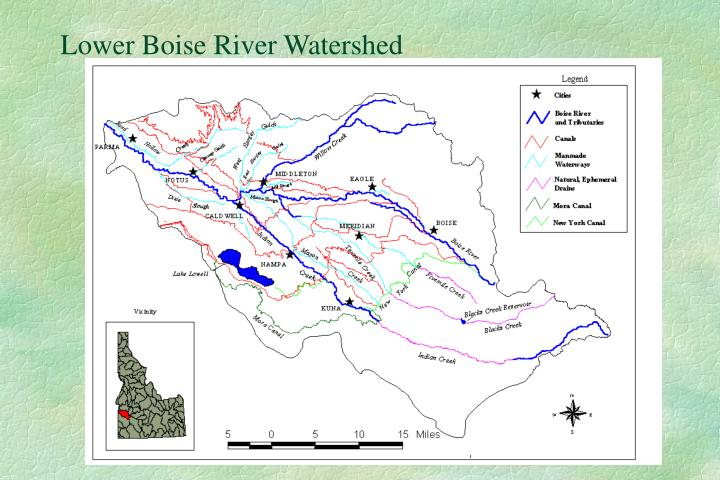 Lower Boise River Watershed
