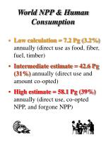 world npp human consumption1