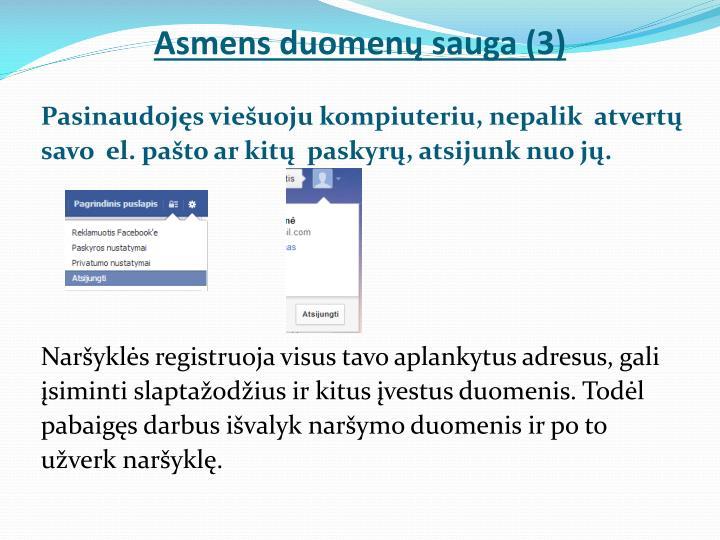 Asmens duomenų sauga (3)