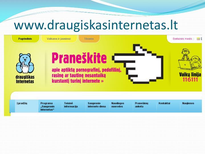 www.draugiskasinternetas.lt