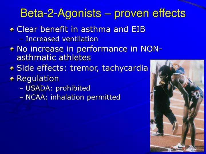 Beta-2-Agonists – proven effects