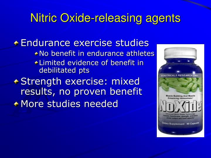 Nitric Oxide-releasing agents