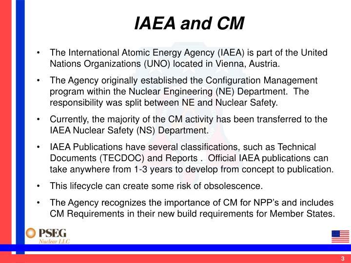 IAEA and CM