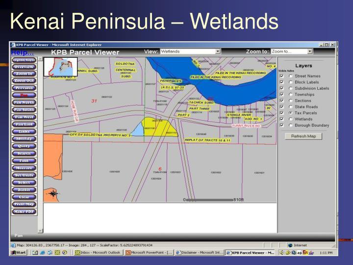 Kenai Peninsula – Wetlands