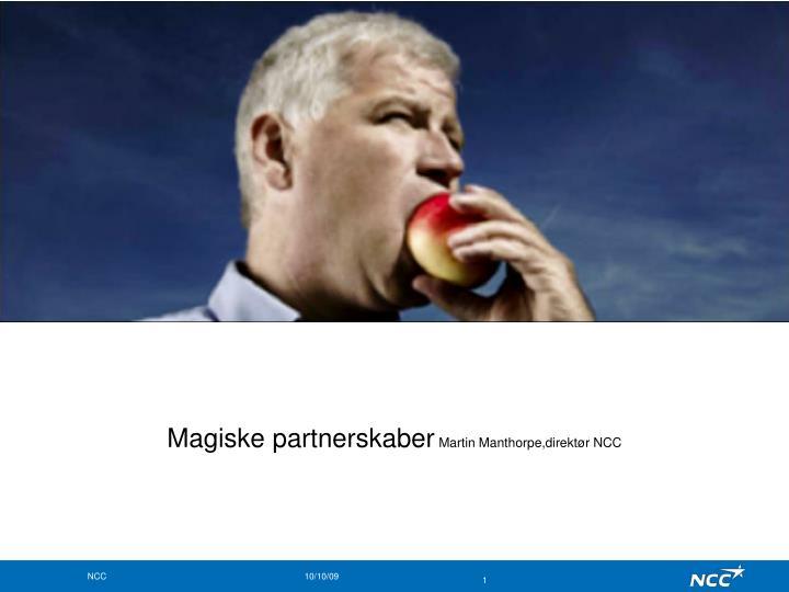 Magiske partnerskaber