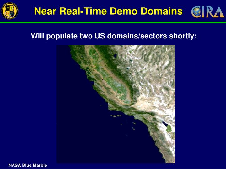 Near Real-Time Demo Domains