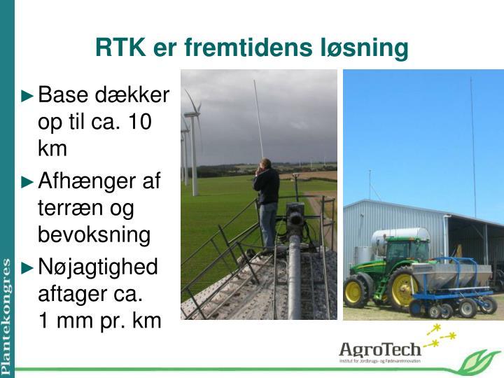 RTK er fremtidens løsning
