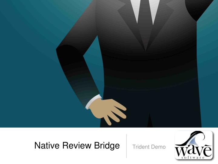 Native Review Bridge