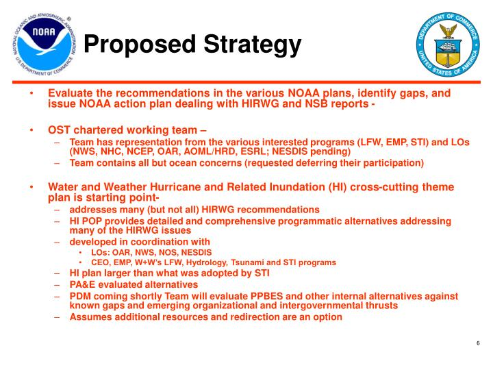 Proposed Strategy