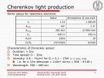 cherenkov light production1