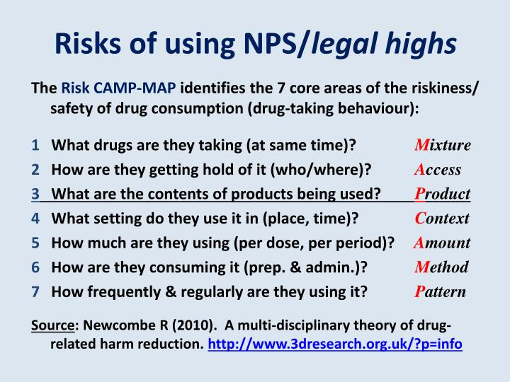 Risks of using NPS/