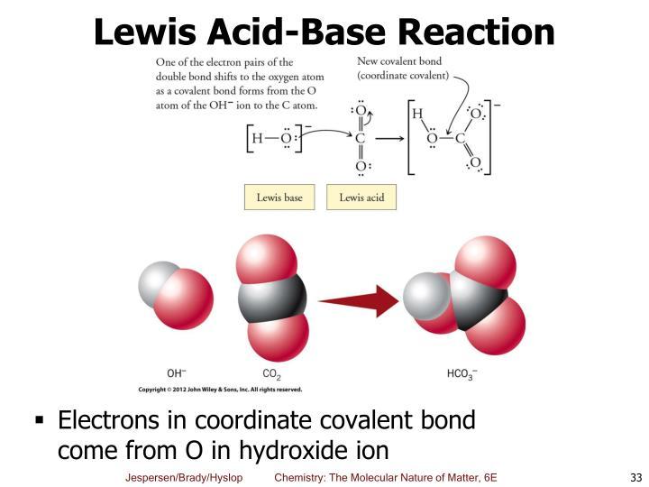 Lewis Acid-Base Reaction