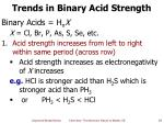 trends in binary acid strength