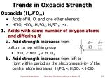trends in oxoacid strength