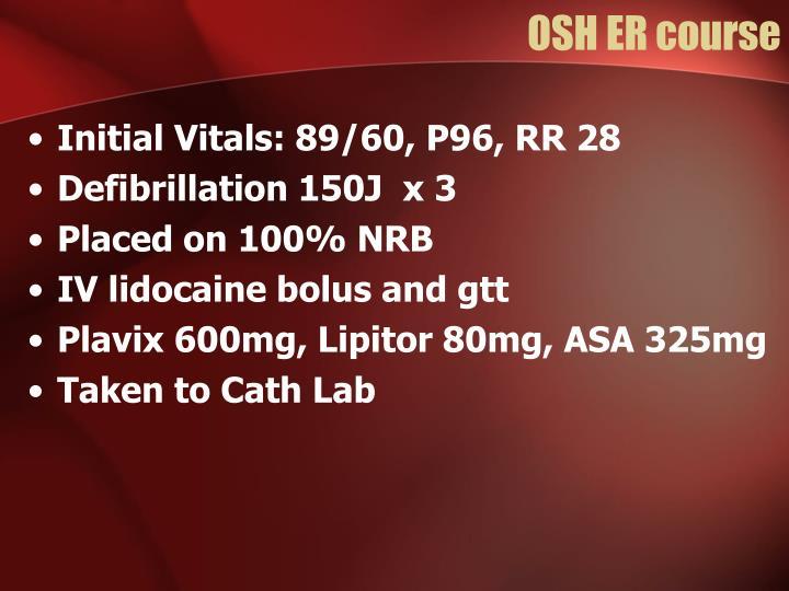 OSH ER course