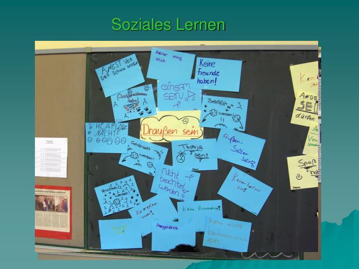 Soziales Lernen