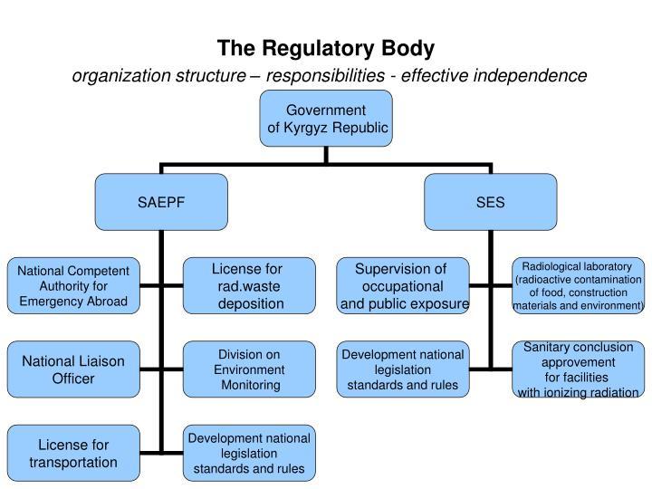 The Regulatory Body