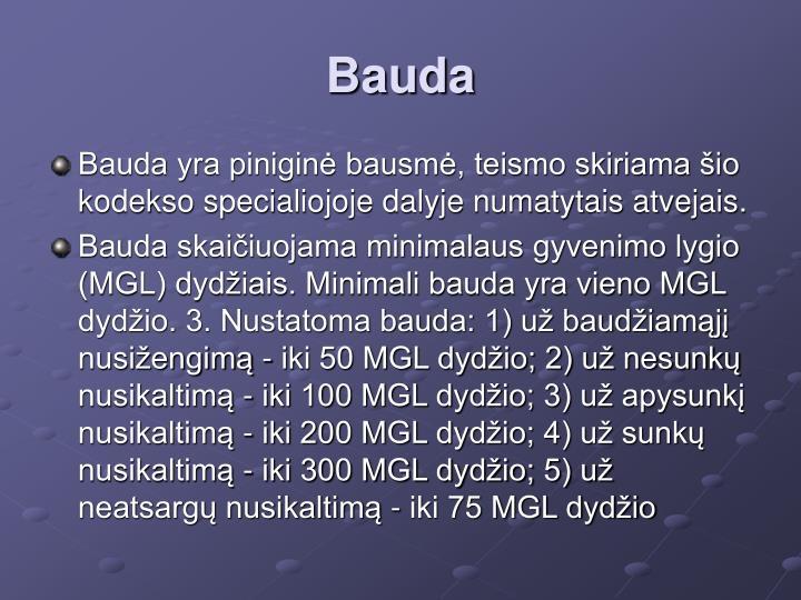 Bauda