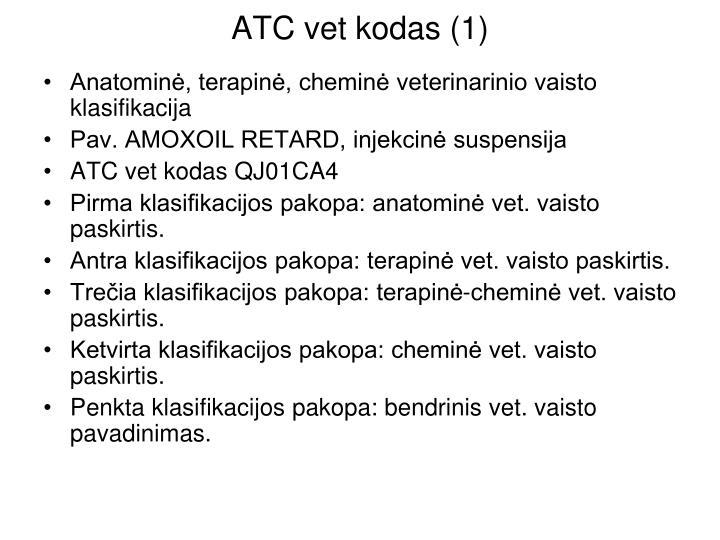 ATC vet kodas