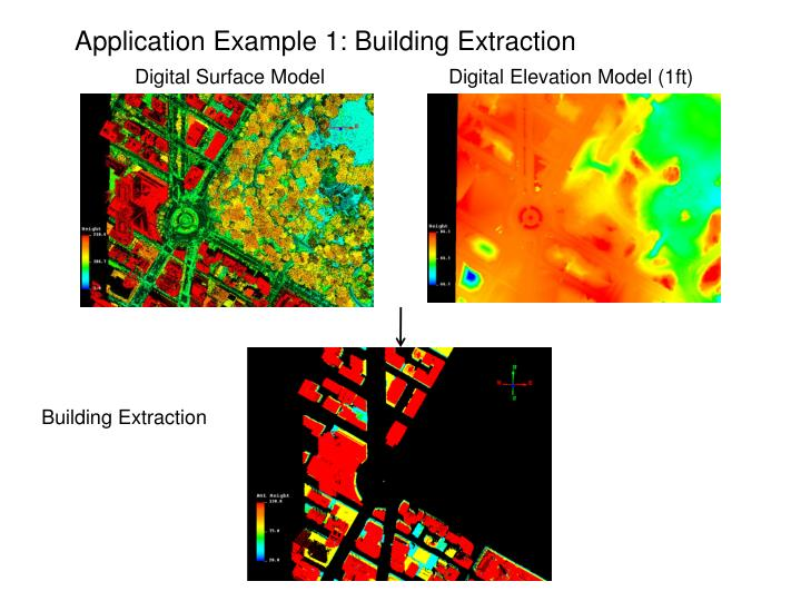 Application Example 1: Building Extraction