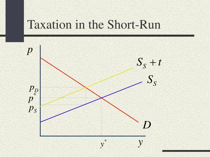 Taxation in the Short-Run