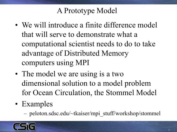 A Prototype Model
