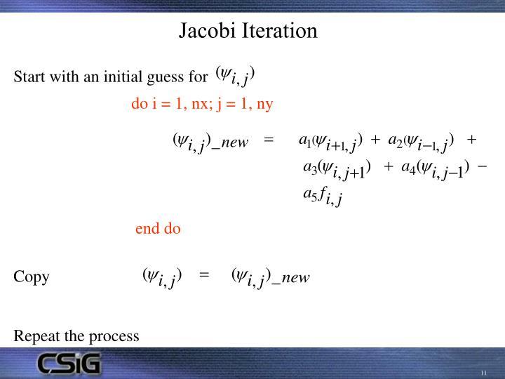 Jacobi Iteration