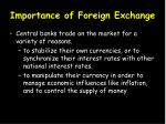 importance of foreign exchange2