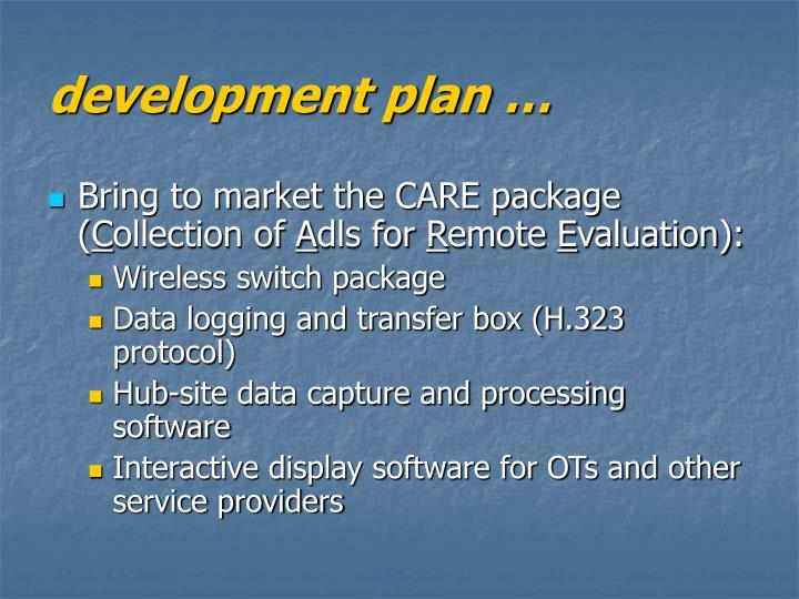 development plan …