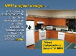 nrh project design