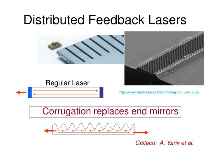 Distributed Feedback Lasers