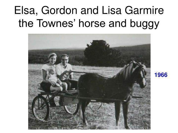 Elsa, Gordon and Lisa Garmire