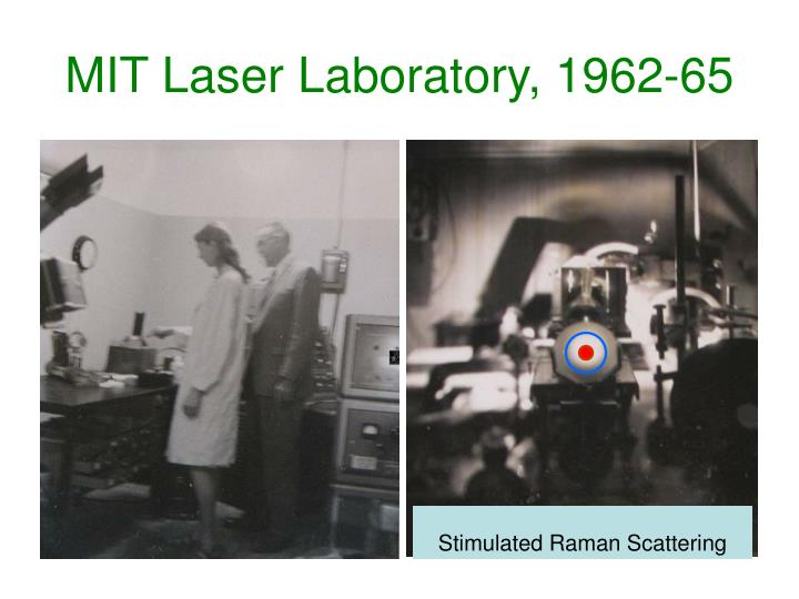MIT Laser Laboratory, 1962-65
