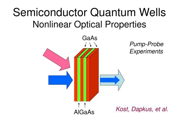 Semiconductor Quantum Wells