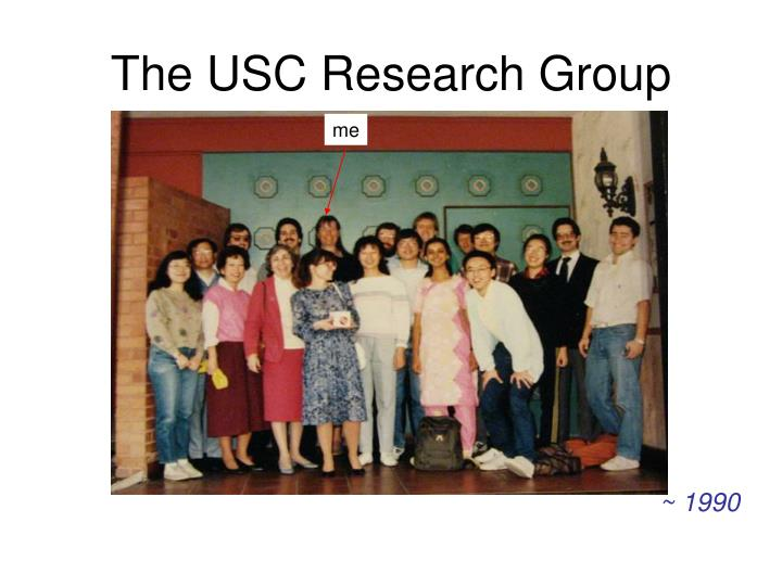 The USC Research Group