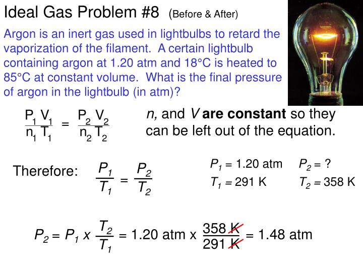 Ideal Gas Problem #8
