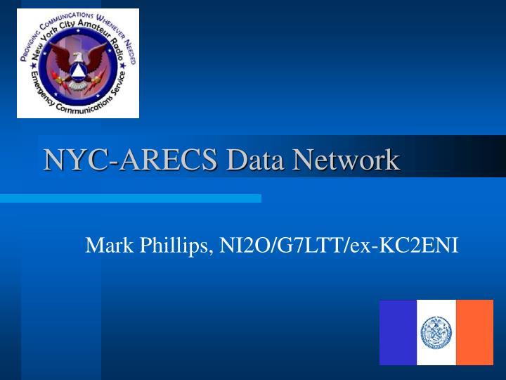 NYC-ARECS Data Network